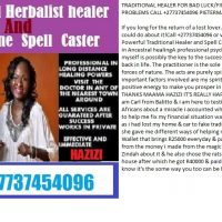 TRADITIONAL HEALER FOR BAD LUCK/FINANCIAL & LOVE PROBLEMS CALL +27737454096 PIETERMARITZBURG